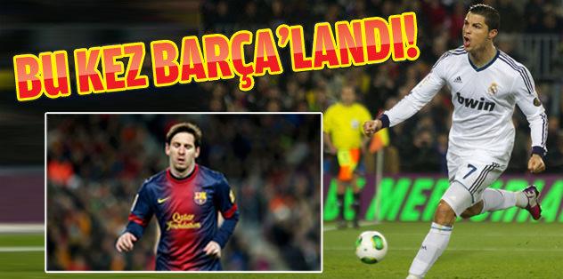Ronaldo Barça'ladı!
