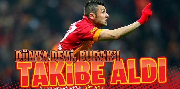 Manchester United, Burak'ı takibe aldı