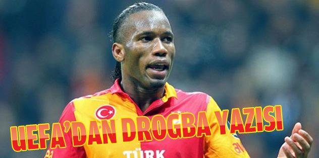 UEFA'nın Drogba yazısı geldi
