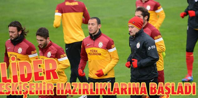 G.Saray Eskişehir maçı hazırlıklarına başladı