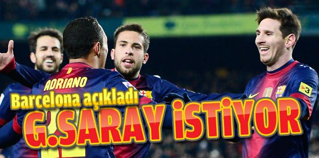G.Saray'ın yeni hedefi Adriano