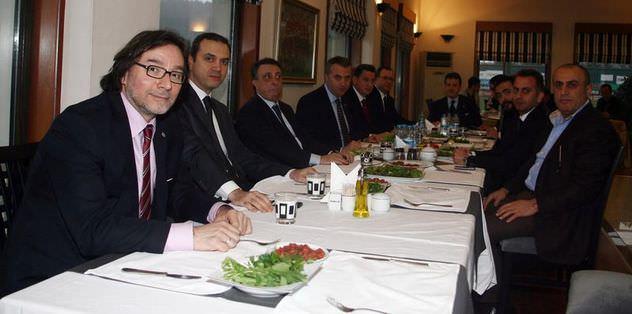 Beşiktaş'ta moral yemeği