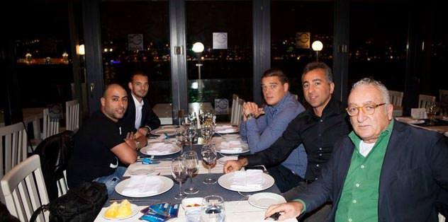 Sneijder'in balık keyfi