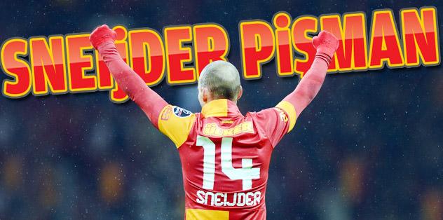 'Sneijder, G.Saray'a geldiği için pişman'