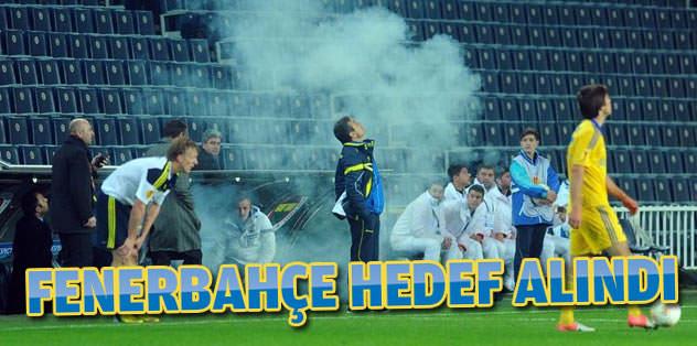 'Fenerbahçe hedef alındı'