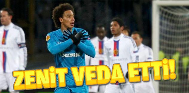 Zenit Avrupa Ligi'ne veda etti!