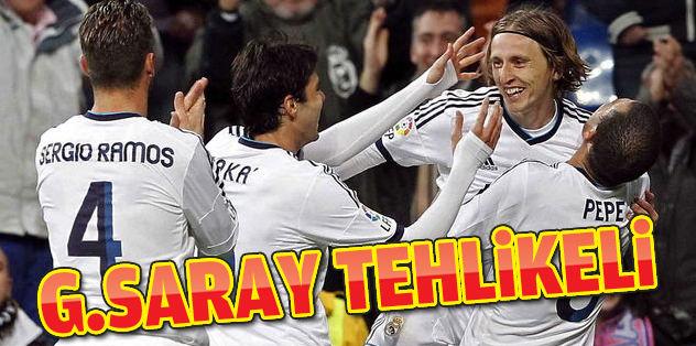 Galatasaray tehlikeli