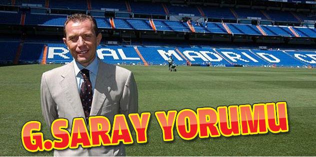 Real'den Galatasaray yorumu