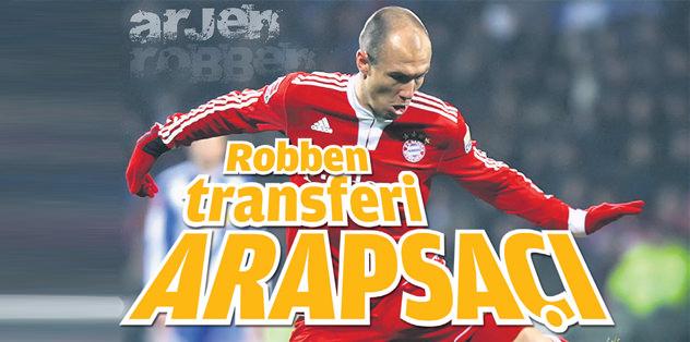 Robben transferi arapsaçı