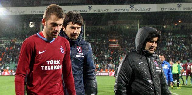 Trabzon ilk yarıyı mumla arıyor