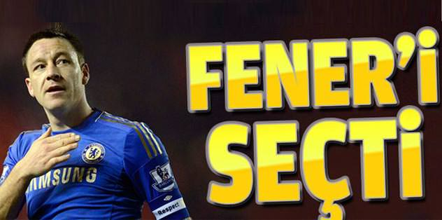 Terry Fener'i seçti