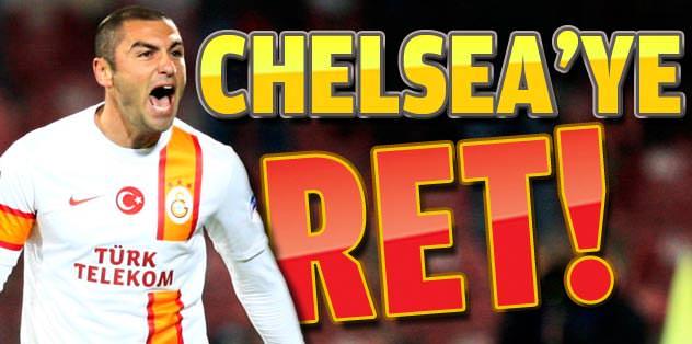 Galatasaray'dan Chelsea'ye ret