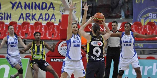 Fenerbahçe Kayseri KASKİ'yi mağlup etti