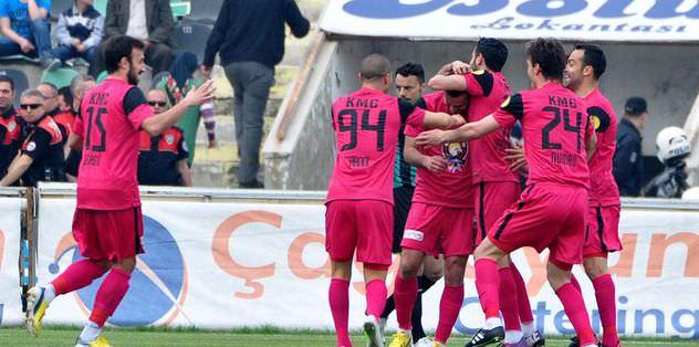 Denizlispor: 1 - Kayseri Erciyesspor: 2