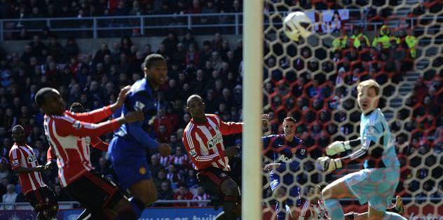 M.United, Sunderland'ı yıktı
