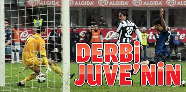 'İtalya derbisi' Juve'nin