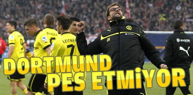 Dortmund pes etmiyor