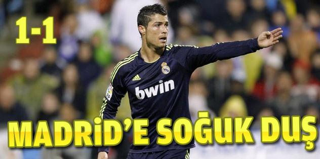 Real Madrid ligde kayıp
