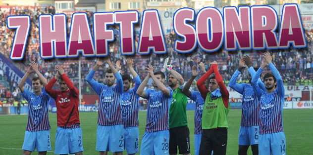 Trabzon galibiyeti hatırladı