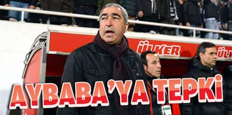 İnönü'de Aybaba'ya tepki