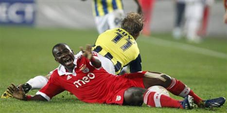 Benfica'dan büyük fire