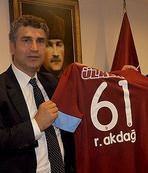 Recep Akdağ'dan kulübe ziyare