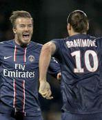 Beckham kupayla bitiriyor
