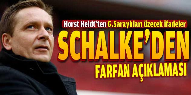 Schalke'den flaş Farfan açıklaması