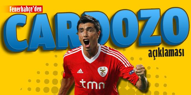 Fenerbahçe'den 'Cardozo' açıklaması
