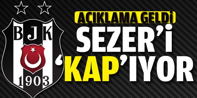 Beşiktaş Sezer Öztürk'ü KAP'a bildirdi
