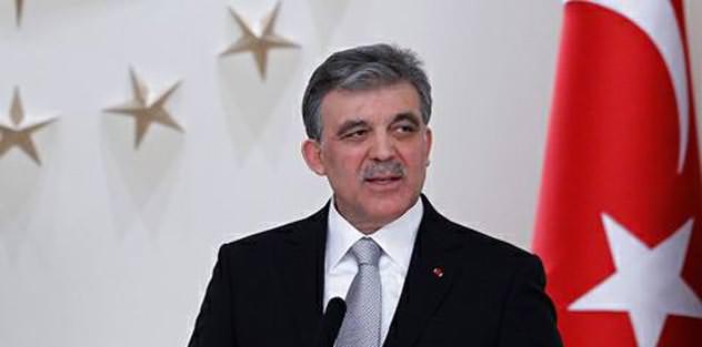 Abdullah Gül'den mesaj