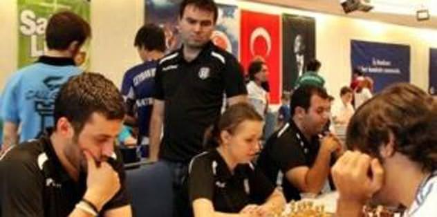 Satranç Ligi'nde Beşiktaş zirvede