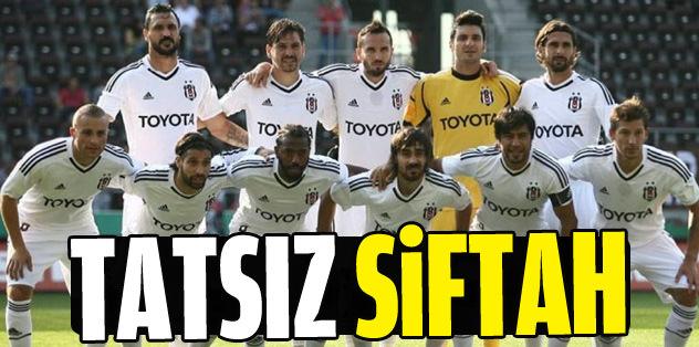 Beşiktaş St. Pauli'ye kaybetti