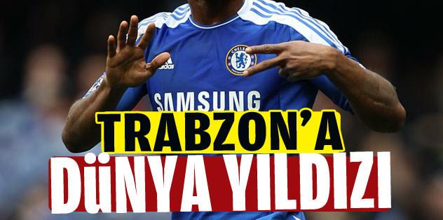 Trabzon'a dünya yıldızı