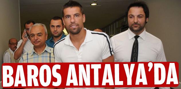 Baros Antalya'da