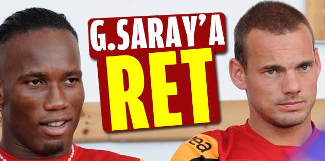Galatasaray'a ret!