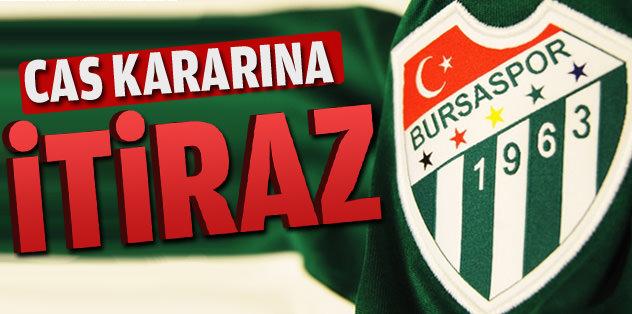Bursaspor'dan CAS açıklaması