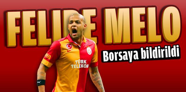 Melo, formasını Sneijder'e bıraktı