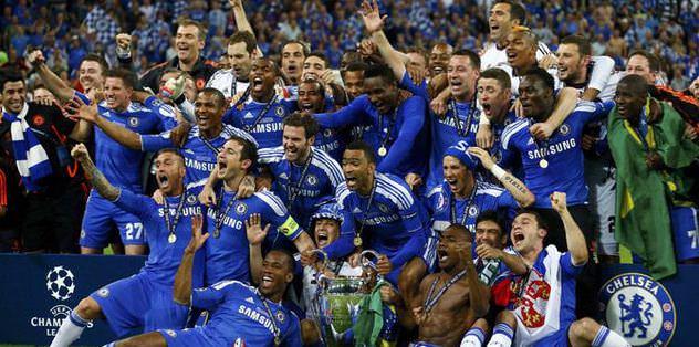 Şampiyon Chelsea Türkiye'de