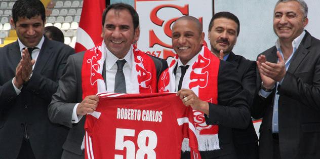 Roberto Carlos may have to leave Sivas