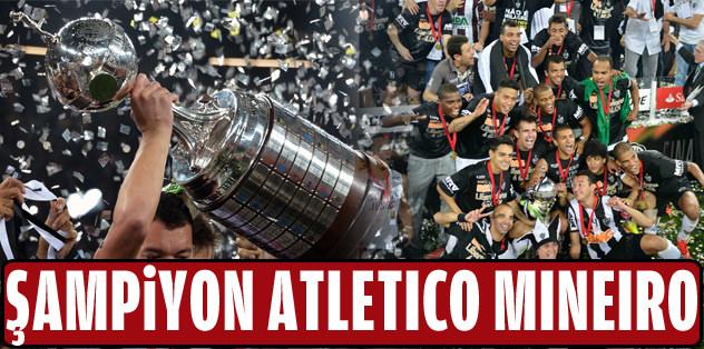 Şampiyon Atletico Mineiro