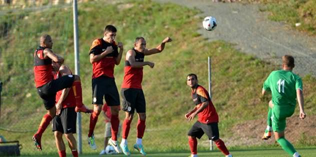 Galatasaray ter attı: 3-0