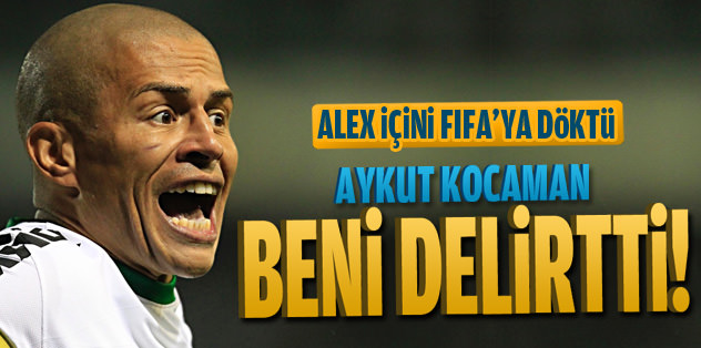 Alex: Aykut Hoca beni delirtti!