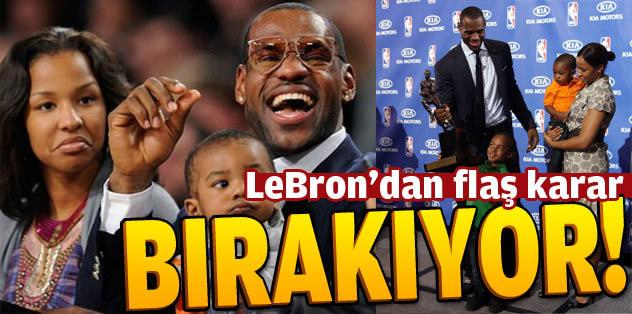 LeBron James'ten flaş karar! Bırakıyor...