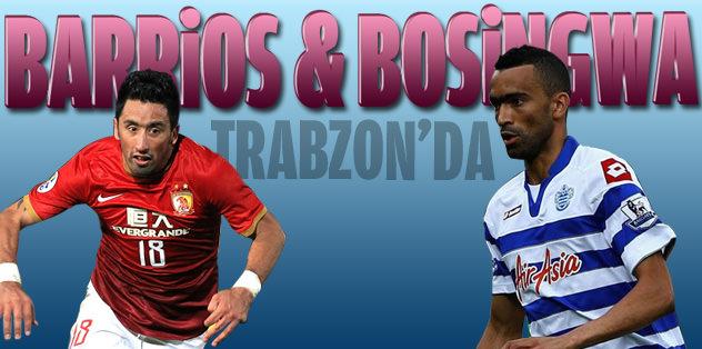 Bosingwa & Barrios Trabzon'da