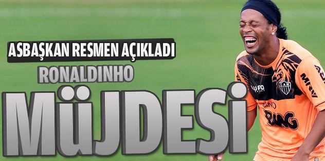 Ronaldinho müjdesi