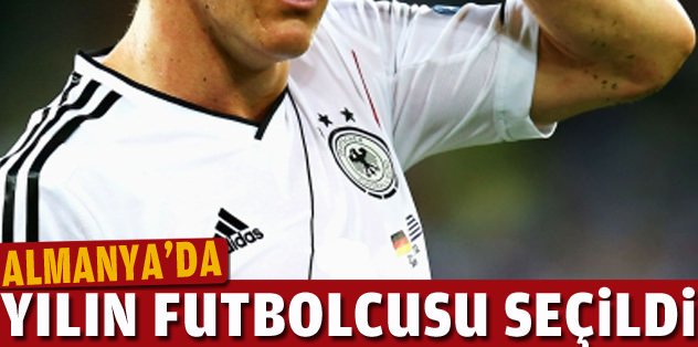Yılın futbolcusu Schweinsteiger!