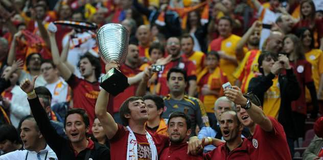 Süper Kupa coşkusu