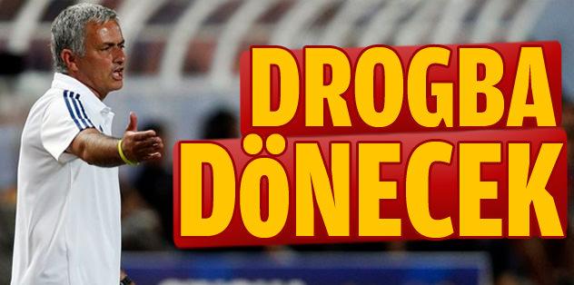 Drogba, Chelsea'ye dönecek