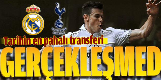 Tottenham'dan rekorluk hayır!